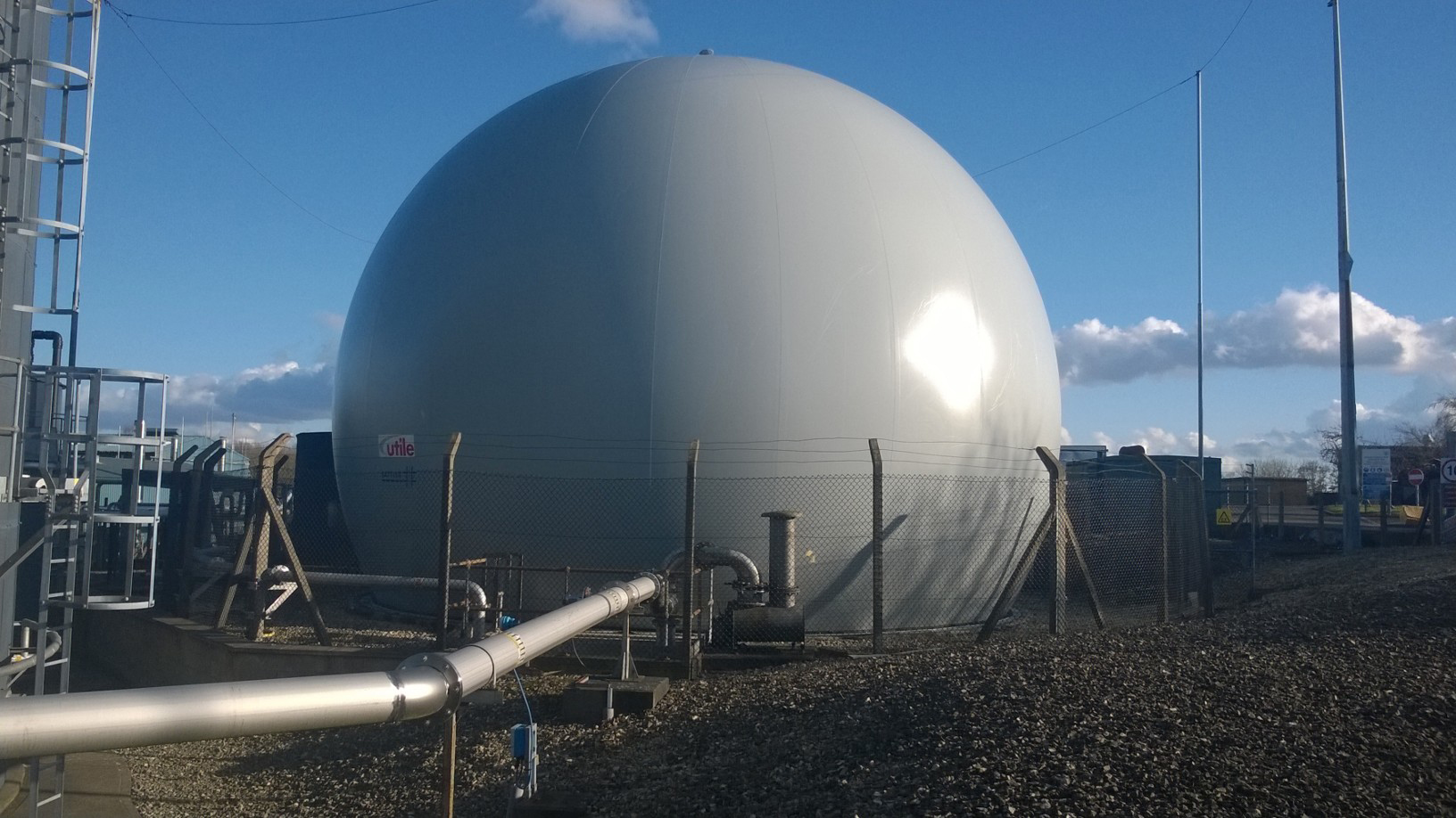 Banbury STW – Thames Water – Gas Holder