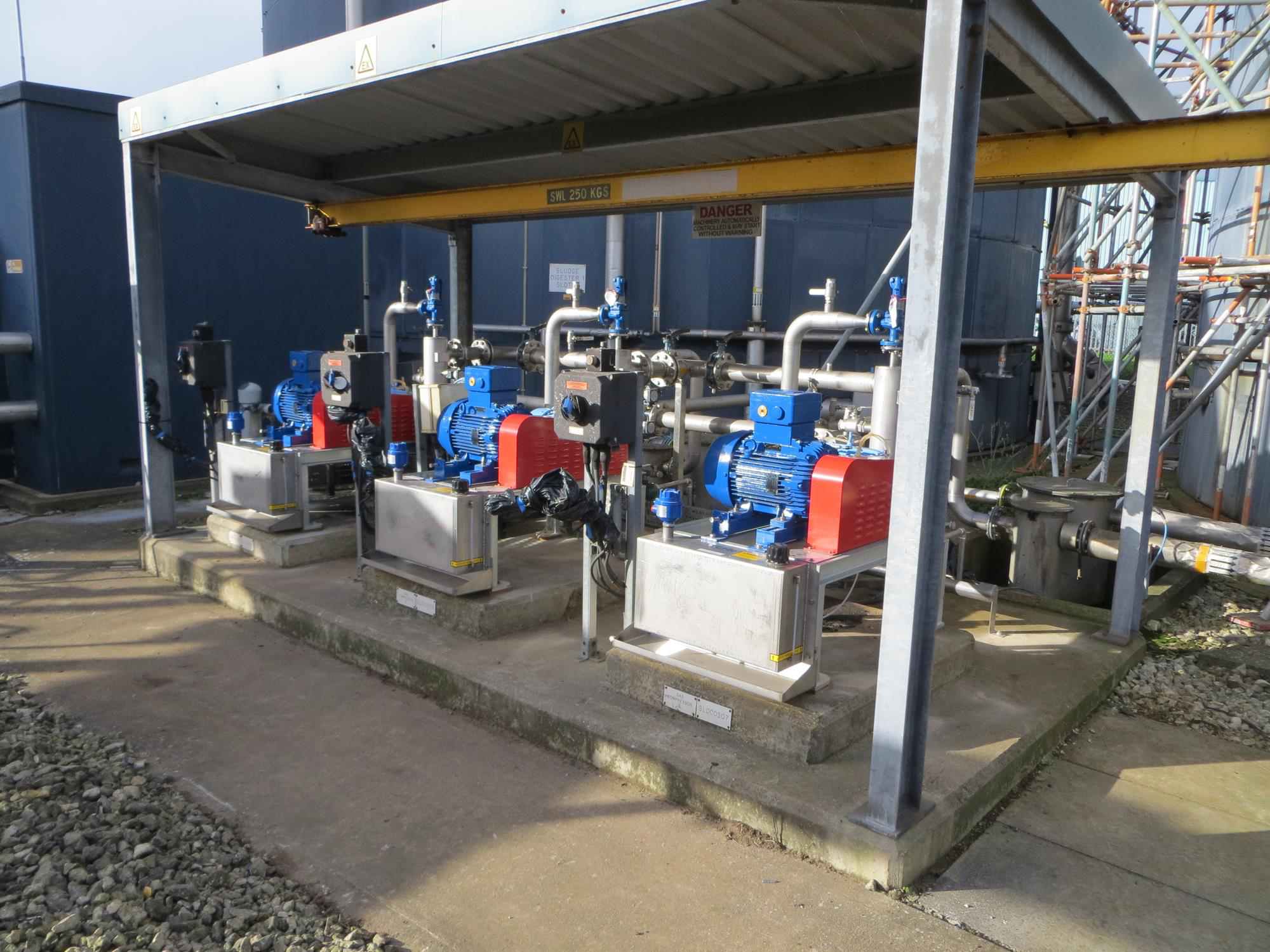Banbury STW – Thames Water – Gas Mixing