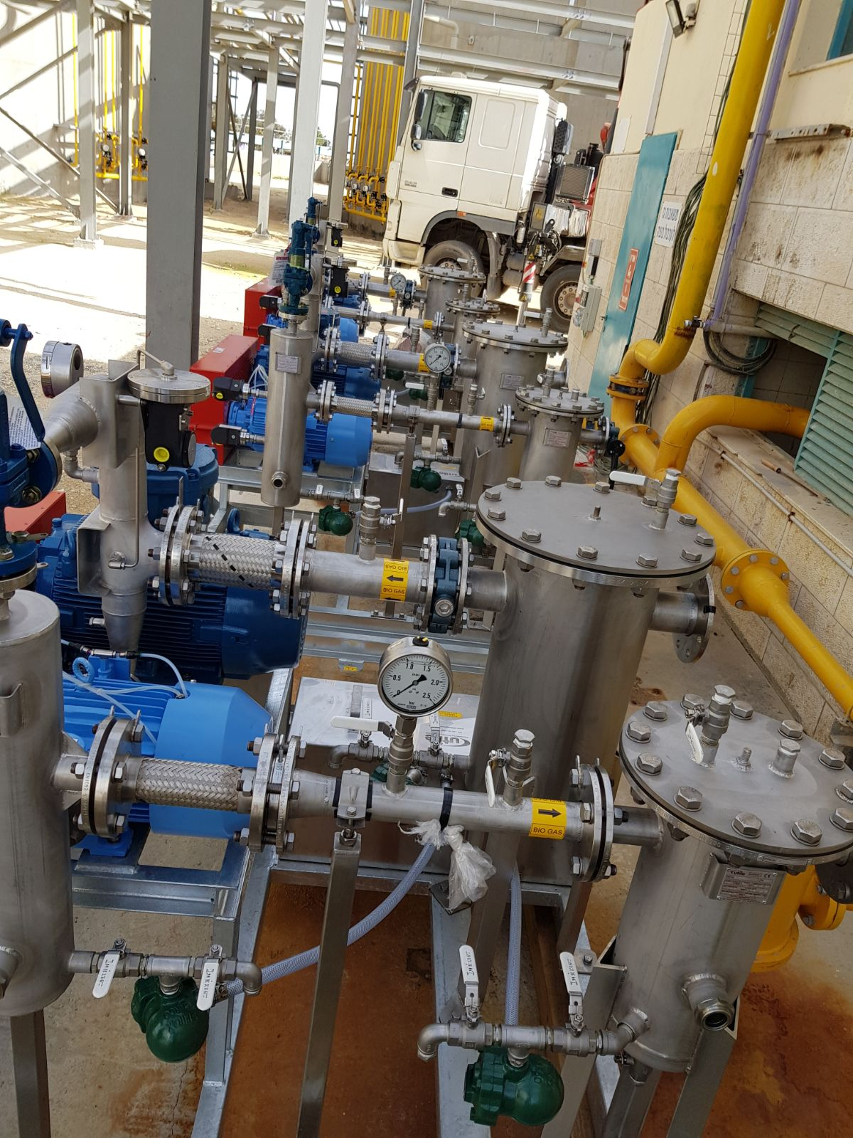 Beer Sheva STW – Anaerobic Gas Mixing