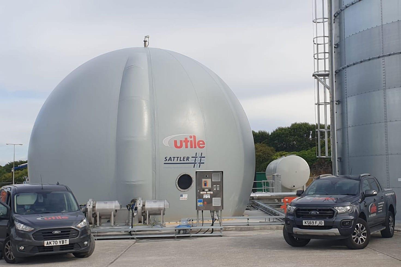 Ground Mount Gas Storage